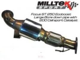 Focus ST MK3 Miltek Sports Cat Non TUV Approved