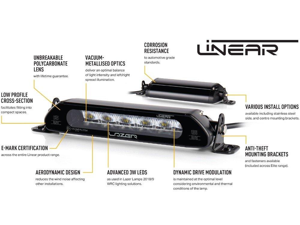 lazer lamps ms-rt ford transit custom  2018   kit