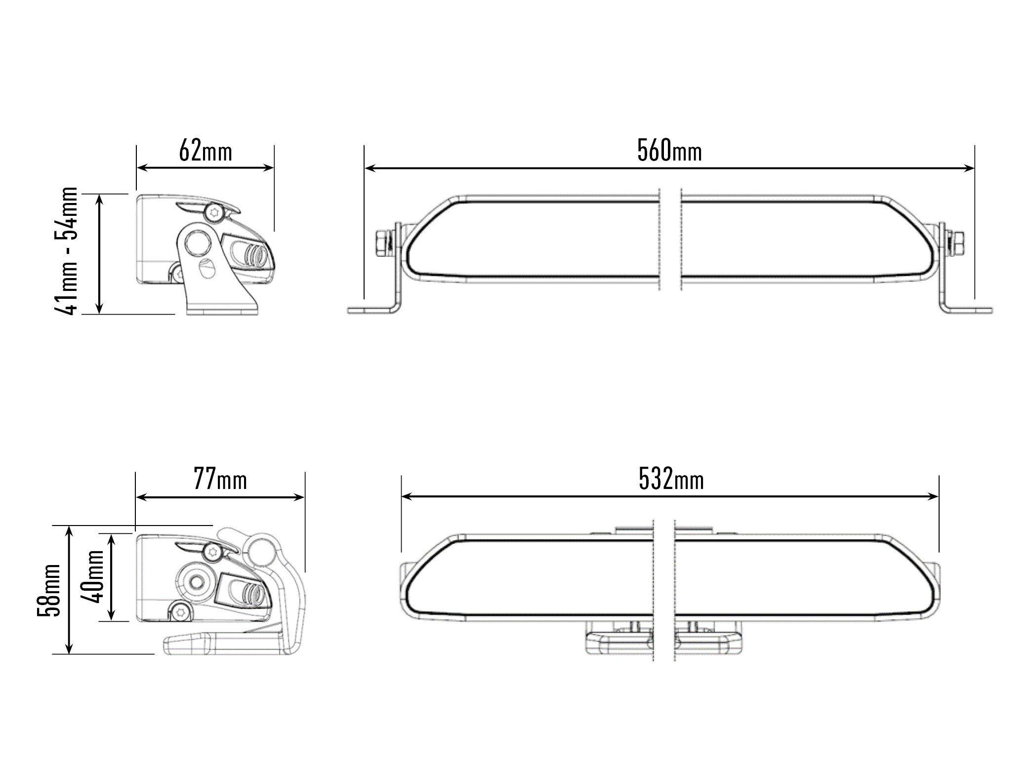 lazer lamps linear-18 elite