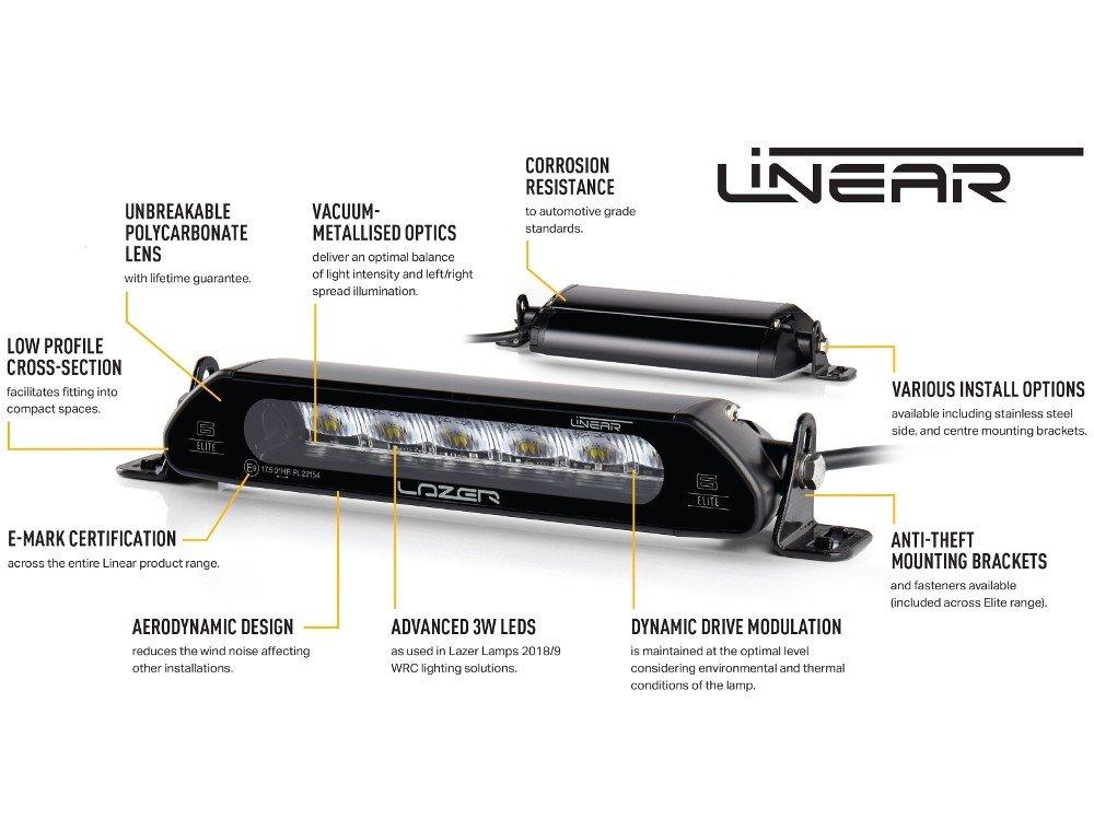 lazer lamps linear-6 elite